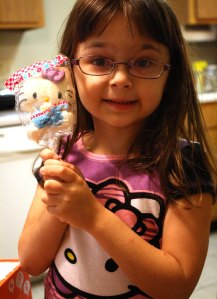 Elizabeth and Hello Kitty