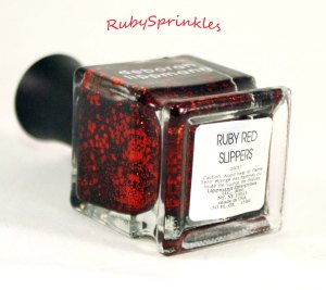 Ruby Red Slippers Label